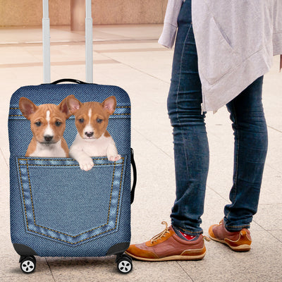 Basenji Pocket Luggage Covers 2003
