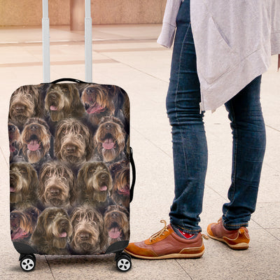 POSEIDON WIREHAIRED POINTING GRIFFON  FULL LUGGAGE COVER 2303