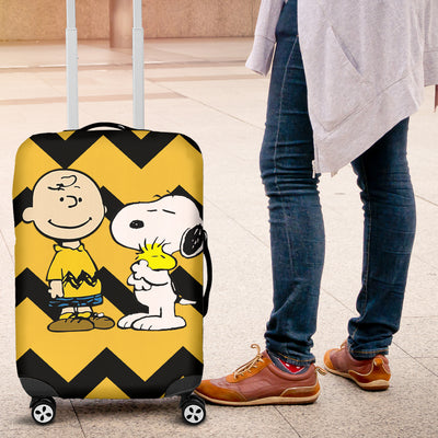 PHOEBE - Charlie Brown And Snoopy Luggage Cover 2803