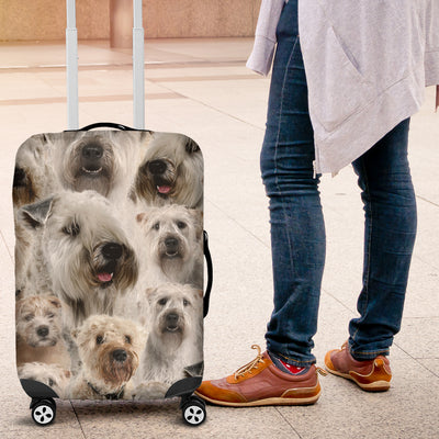 Soft Coated Wheaten Terrier Luggage Covers 260318