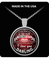 Family - I Love You Darling Necklace - ZEUS250106