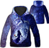 Beauty and the Beast Galaxy All Over Print Hoodie GAEA060136