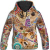Chow Chow Flower Pattern 2 All Over Print Hoodie ZEUS1601