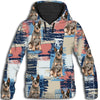 Australian Cattle Dog Flower Pattern 1 All Over Print Hoodie ZEUS1901
