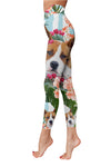American Pit Bull Terrier Pattern 2 Low Rise Leggings ZEUS100101