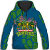 PHOEBE211209 - Ninja turtle - Ninja turtle blue color All Over Print Hoodie