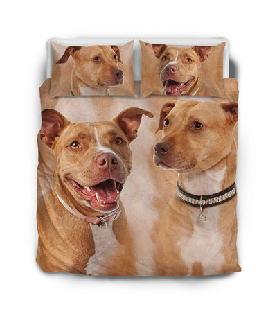 American Pit Bull Terrier Couple Bedding ZEUS151201