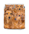 Dachshund Couple Bedding ZEUS151202