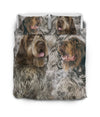 Wirehaired Pointing Griffon Couple Bedding ZEUS181205
