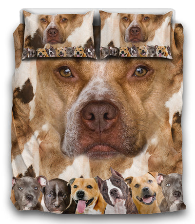 American Pit Bull Terrier Awesome Bedding ZEUS121242