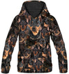 Miniature Pinscher All Over Print Hoodie