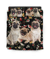 Pug Lili Pattern Bedding ZEUS090106