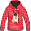 Pug Supreme All Over Print Hoodie ZEUS261222
