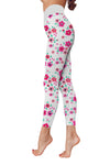 Flower Art 8 Low Rise Leggings ZEUS060148