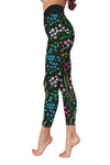 Flower Art 10 Low Rise Leggings  ZEUS060141