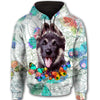 German Shepherd Butterfly All Over Print Full Zip Hoodie ZEUS090118