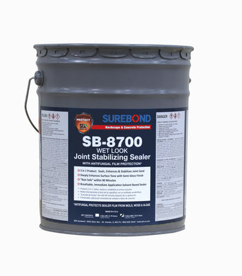 SB-8700: Joint Stabilizing, Wet Look, Solvent Based (TOP SELLER) (5 Gallons)