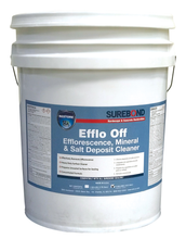 SB - Efflo Off - Efflorescence, Mineral & Salt Deposit Cleaner (5 Gallons)