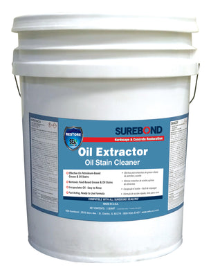 Surebond - Oil Extractor - Oil Stain Cleaner (5 Gallons)