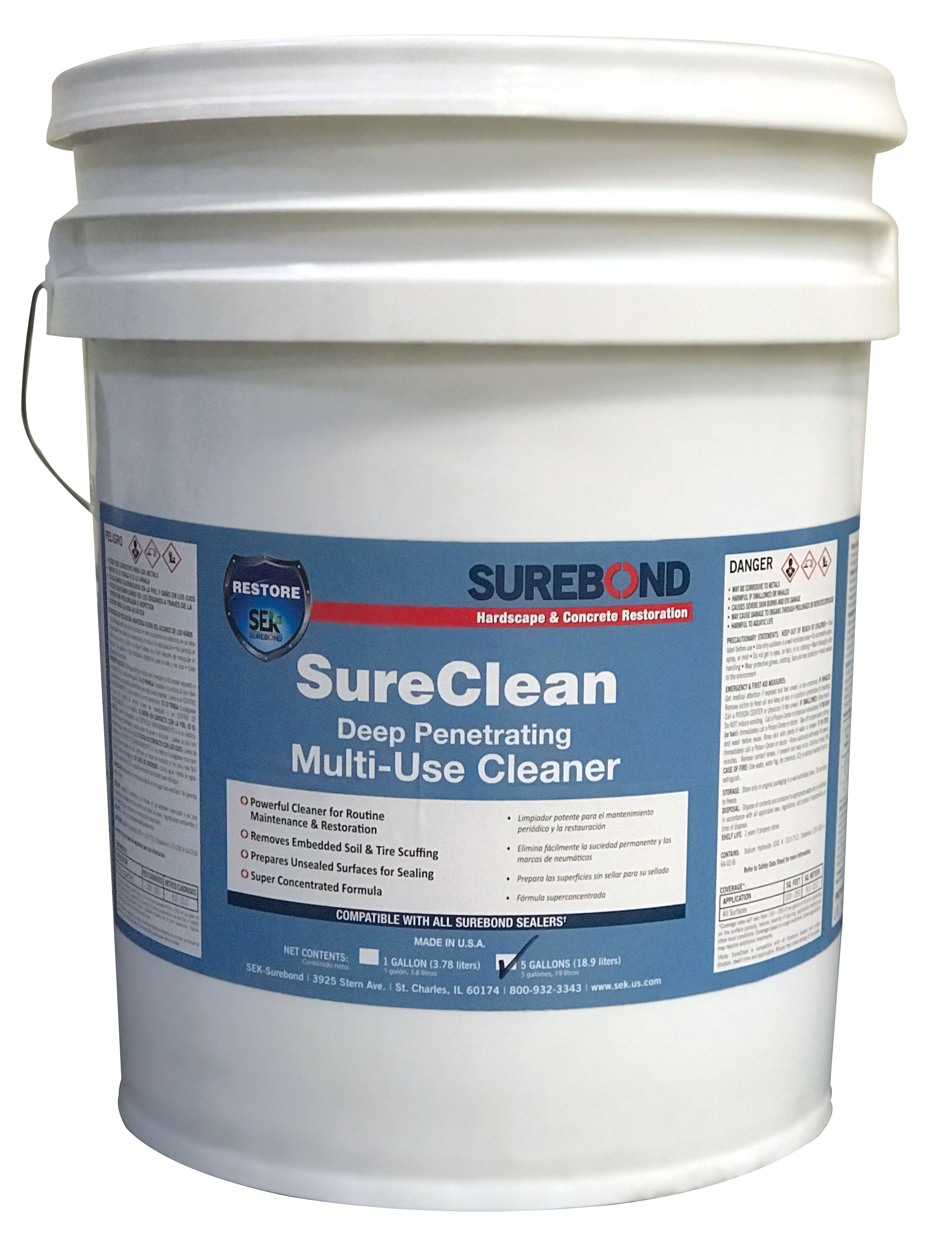 Surebond - Sure Clean - Deep Penetrating Multi Use Cleaner (Sample Pint)