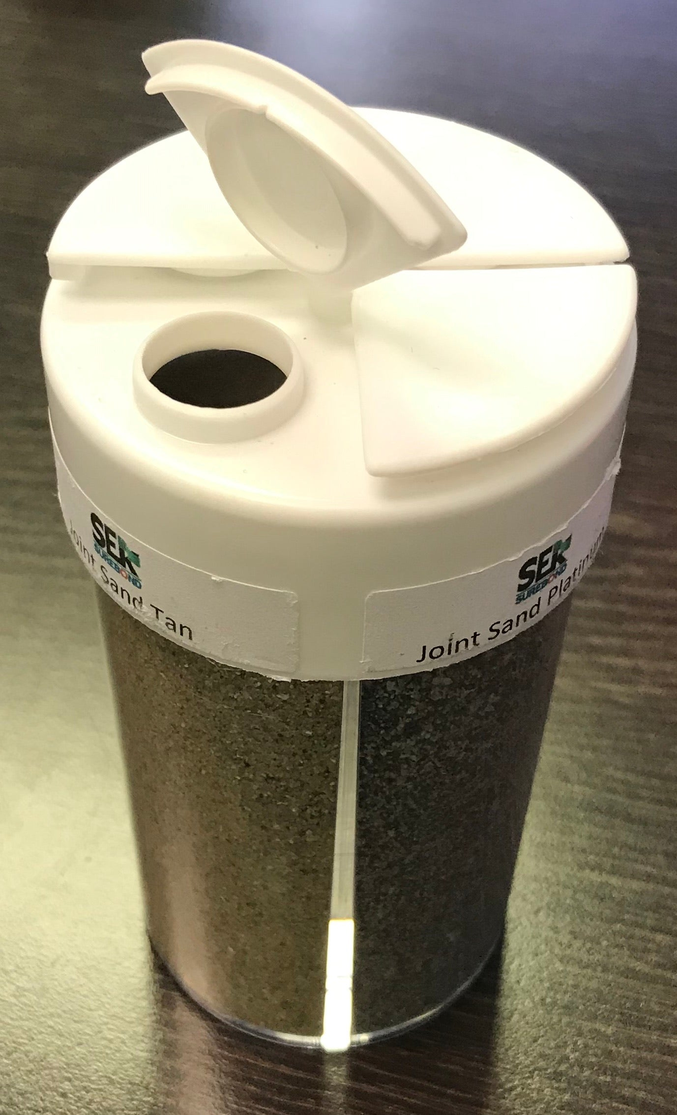 Sand Sample Container 4 colors