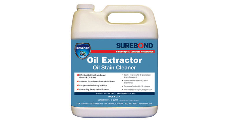 Surebond - Oil Extractor - Oil Stain Cleaner (Sample Pint)