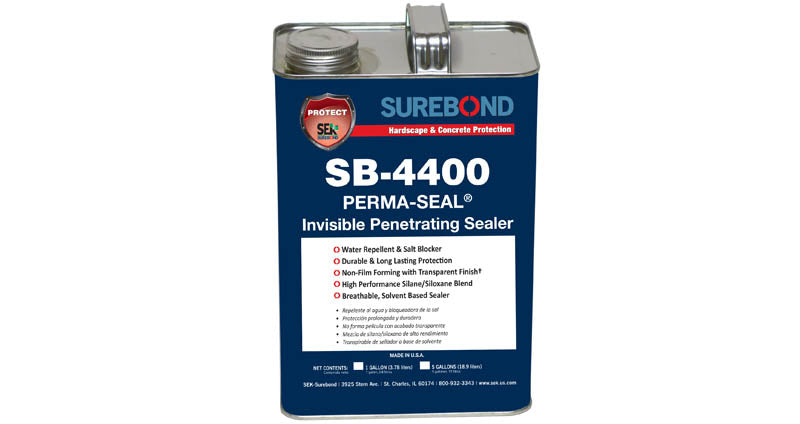 Surebond 4400EZ - Perma Seal Invisible Penetrating Sealer (Sample Pint)