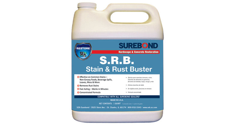 Surebond - S.R.B. Stain and Rust Buster (Sample Pint)