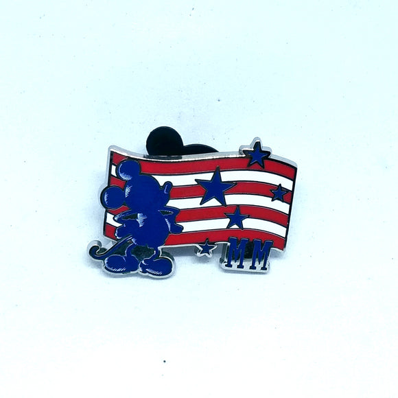 Mickey with Flag Pin - Booster Pack