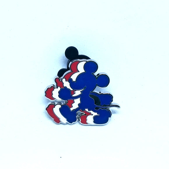 Red, White & Blue Mickey Mouse Pin - Booster Pack