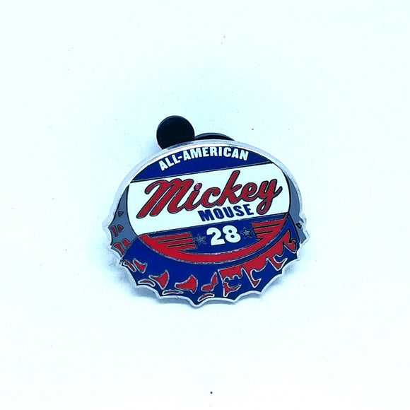 All-American Mickey Bottle Cap Pin - Booster Pack