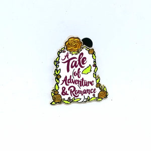 """A Tale of Adventure & Romance"" Quote Pin - Booster Pack"