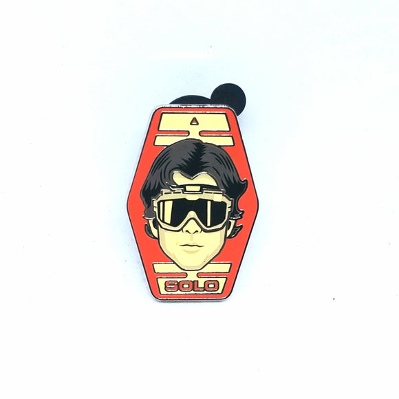 Han Solo Flight Goggles Headshot Pin - Booster Pack