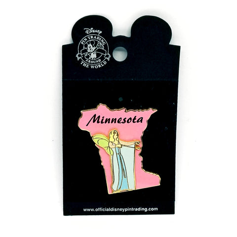 Minnesota - Blue Fairy Pin
