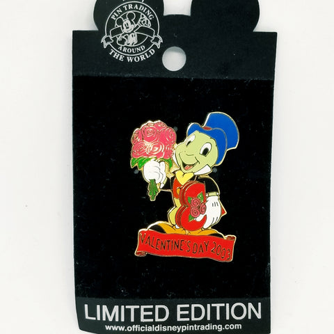 Jiminy Cricket - Valentine's Day 2003 Pin