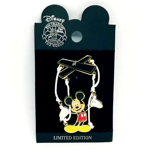 Marionette Mickey Mouse Pin