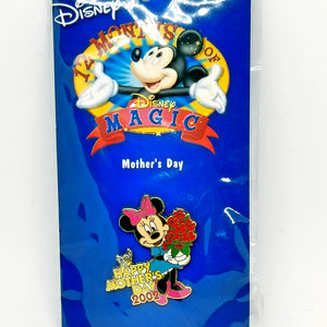 12 Months of Magic - Mother's Day 2002 - Minnie Mouse Pin