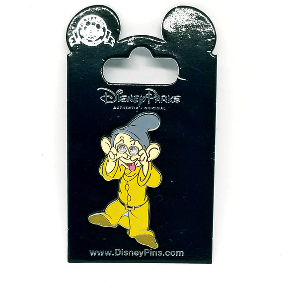 Dopey Jeweled Eyes Pin