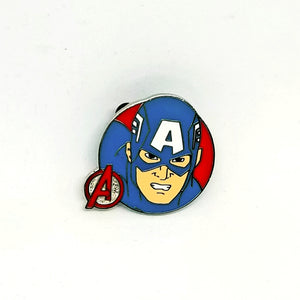 Captain America Pin - Booster Pack