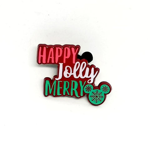 Happy Jolly Merry Pin - Booster Pack
