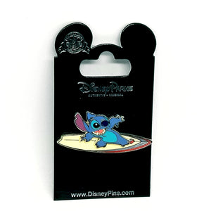 Stitch on a Surfboard Pin