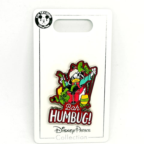 """Bah Humbug!"" Donald Duck Pin"