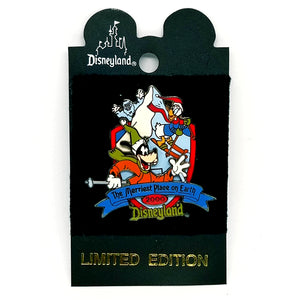Merriest Place on Earth - Goofy and Donald Pin