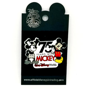 75 Years with Mickey WDW Pin