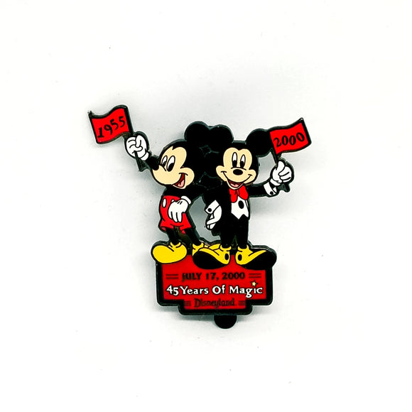 45 Years of Magic Mickey Mouse Pin