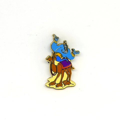 Genie on a Camel Pin