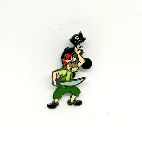 Return To Neverland - Mullins Pirate Pin