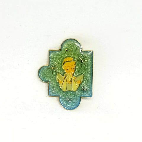 Cinderella Puzzle Piece Pin (No Card)