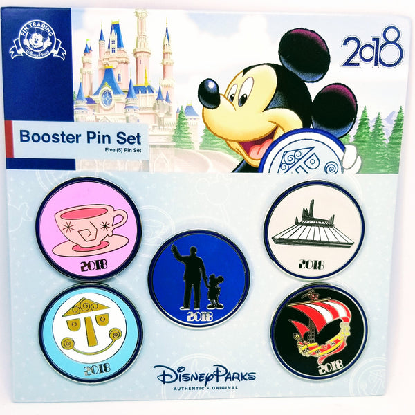 2018 Walt and Mickey Pin - Booster Pack