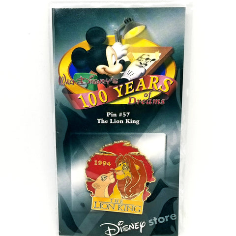 100 Years of Dreams - The Lion King Pin